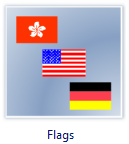 Vector Flags Clip Art
