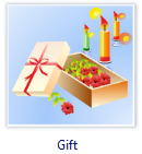 Vector Gift Clip Art