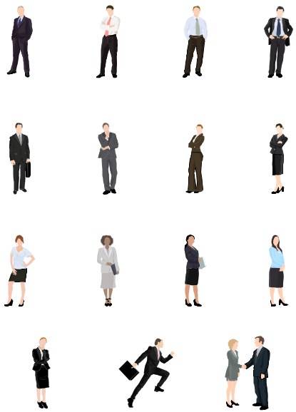 Vector People Clip Art, Free Download