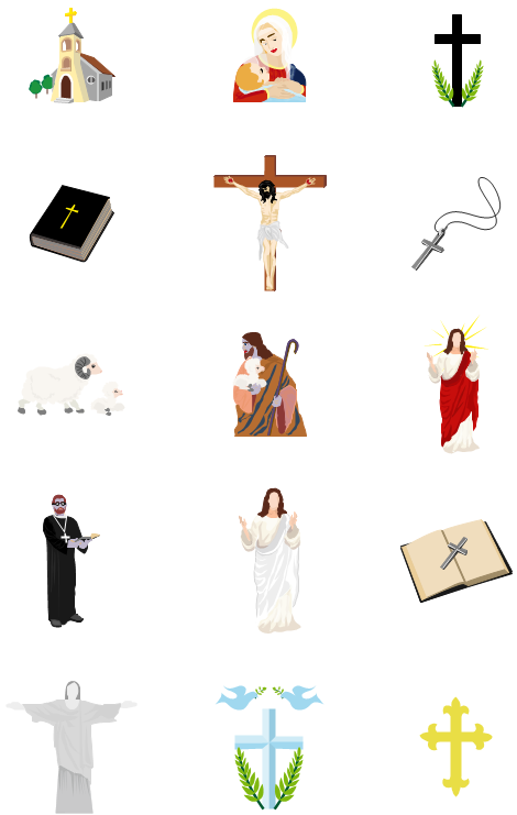 Autres cliparts de religion