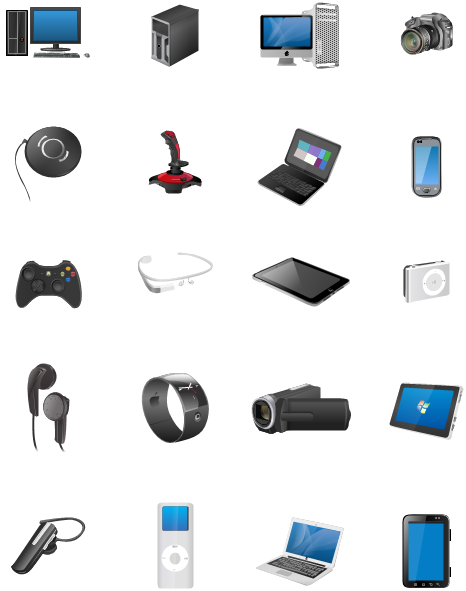 More Technology Clipart
