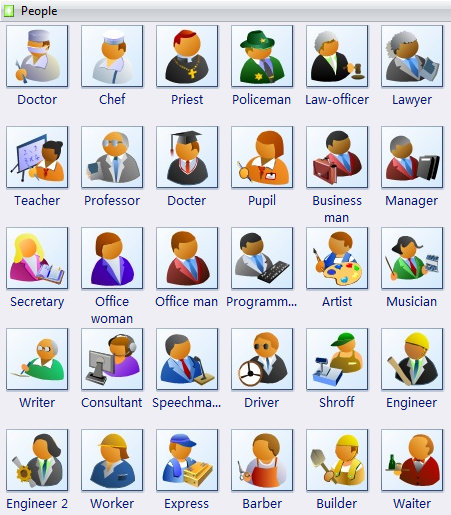 Clip Art - People