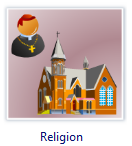 Vector Religion Clip Art