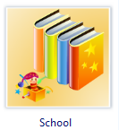 Vector School Clip Art