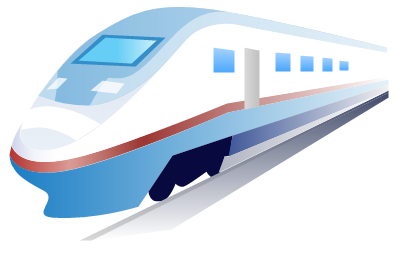 Clipart vectoriel - Train
