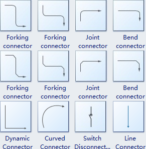 Connectors for Showing Interrelationship