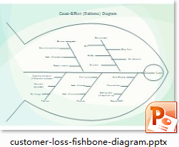 Customer Loss Fishbone Diagram