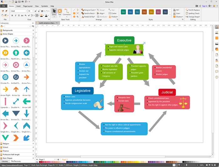 diagram design software edraw max