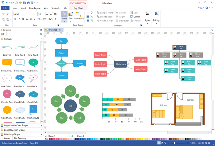 desktop diagram software for mac windows - Visio Like Program For Mac