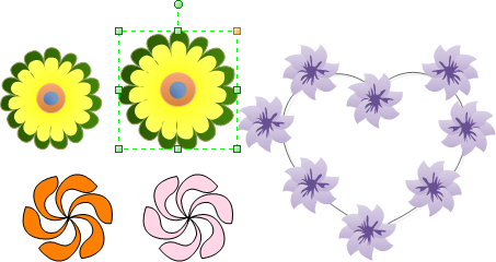 Edit Flower Shapes