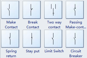 electrical switch symbols rh edrawsoft com Fuze Wiring Symbol Common Wiring Symbols