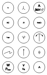 Standard Electrical Symbols For Electrical Schematic Diagrams on