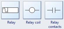 Relay Symbols
