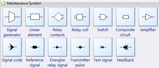maintenance symbols for maintenance and repair diagrams : signal flow diagram symbols - findchart.co
