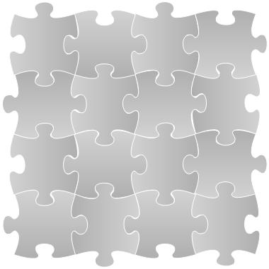 16 Puzzle Pieces