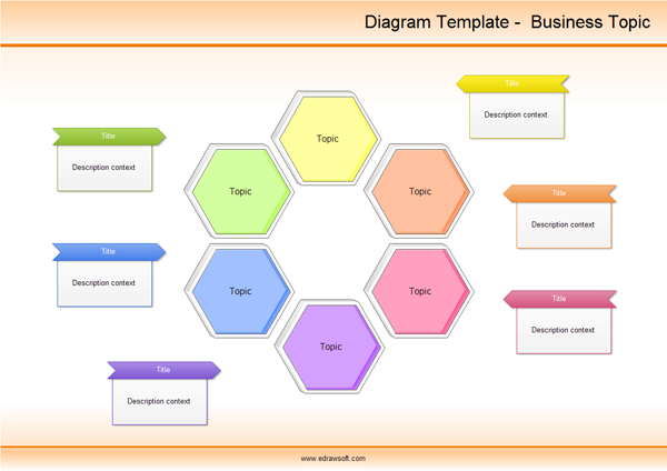 diagram template business topic