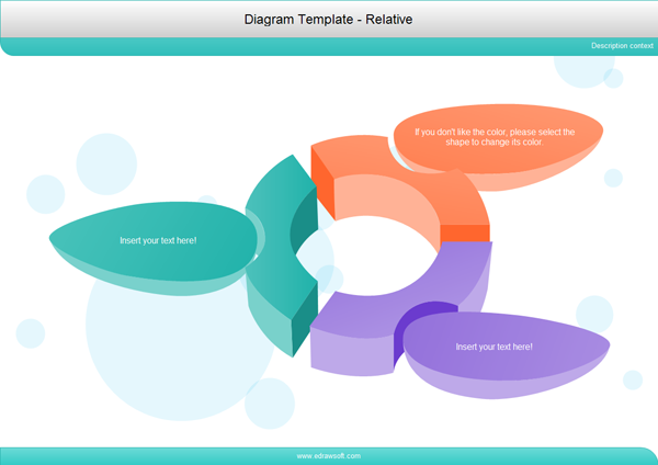 diagram template   relative diagram template