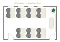 Plan de salle - Salle de classe