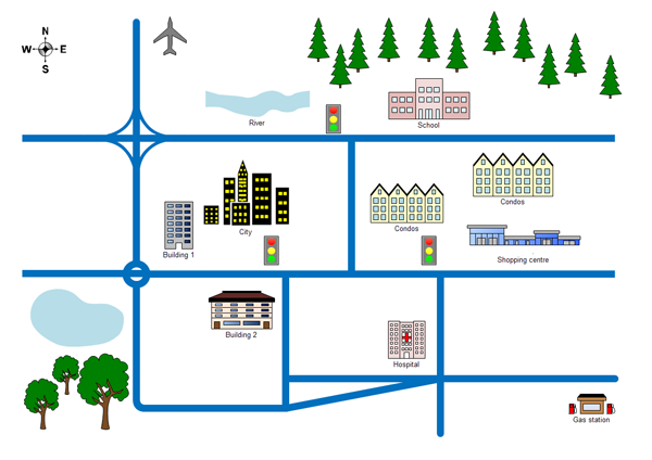[برنامج] التخطيط Edraw Network Diagram office%20position.pn