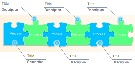 puzzle diagram templates