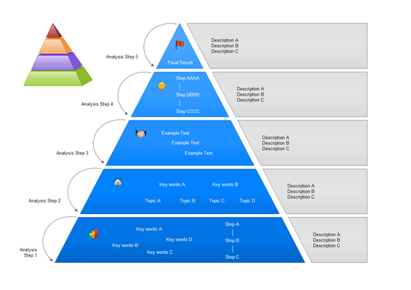 Pyramid Chart Examples  Free Pyramid Diagram Examples