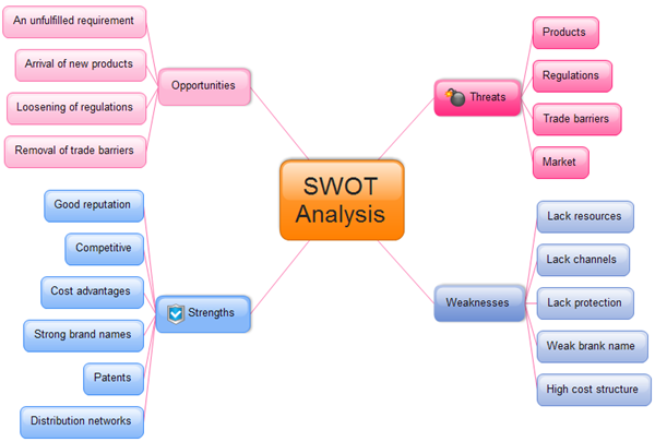 Components Of Swot Matrix