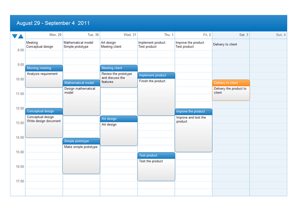 Free Download Calendar Software and View All Examples