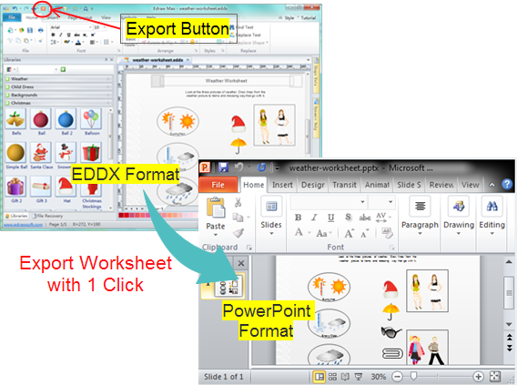 Export Worksheet as PPT