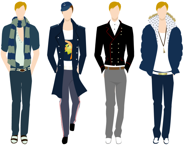 Men Clothing Design Software Edraw