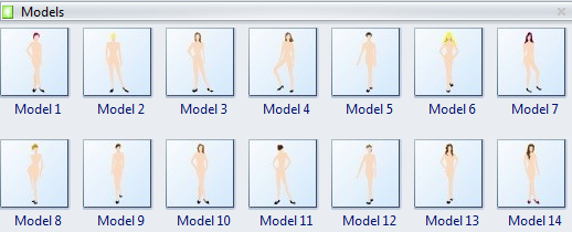 create fashion design with computer programyou can also use models from the built in fashion design examples or draw a new one on your own