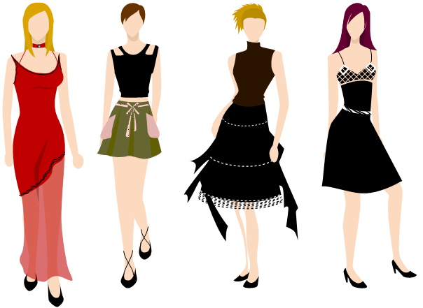 Fashion design examples for To be a fashion designer