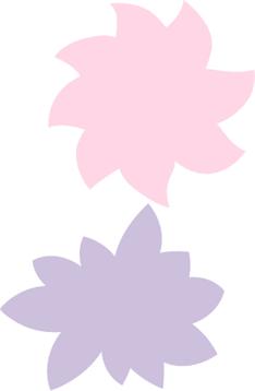 Floral Stiker