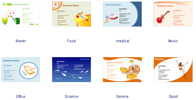 Business card software free business card templates download business card examples reheart