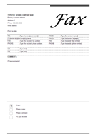 Fax couvercle - noir