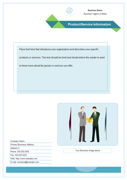 Business Scene Clip Art Example