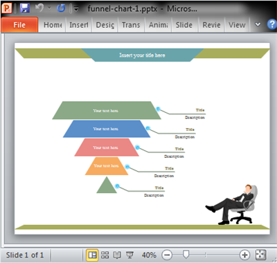 Funnel Chart for PowerPoint