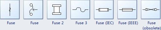 Símbolos de fusibles