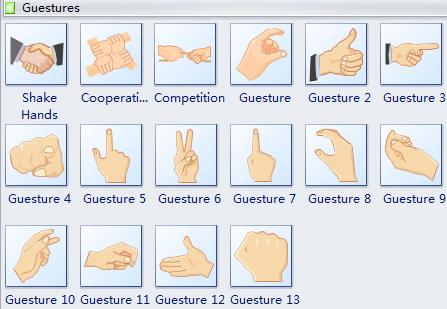 Clip Art - Gestures