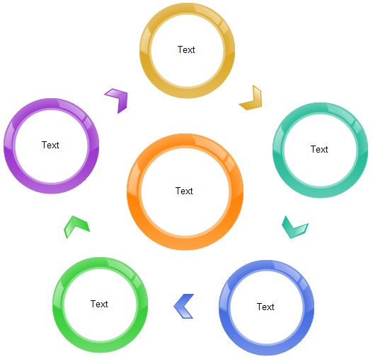 Modèle graphique Radial
