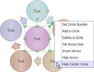 Edit Circular Diagram Symbols