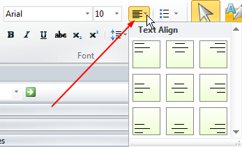 text align style