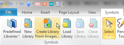create library from images