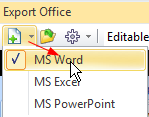 Export to a New Word Document