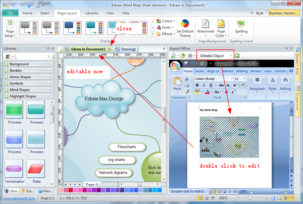 Export diagrams to ms office exporting as an editable object ccuart Images