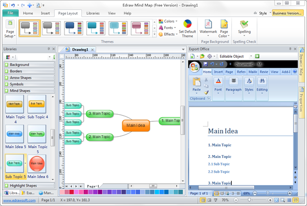 microsoft word diagrams - Etame.mibawa.co