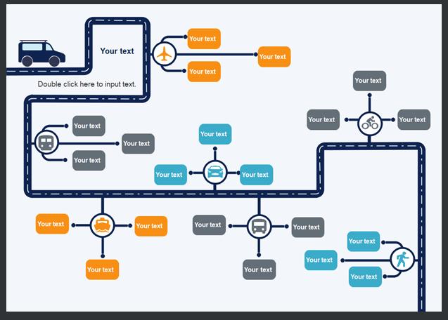modello di diagramma di flusso 1