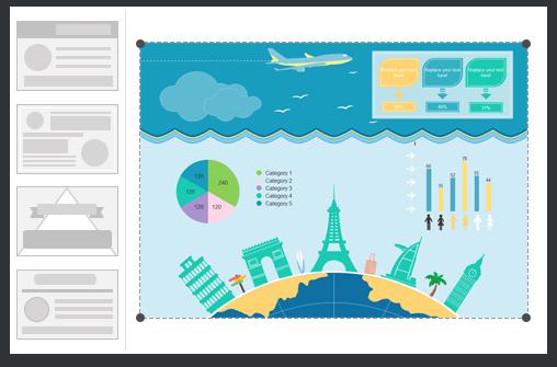 Modelli Infografiche Considerevoli