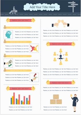 Infografik zur Geschäftstätigkeit