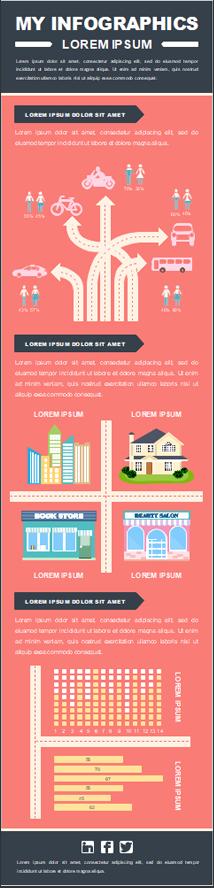 College-Lebensauflösung Infografik