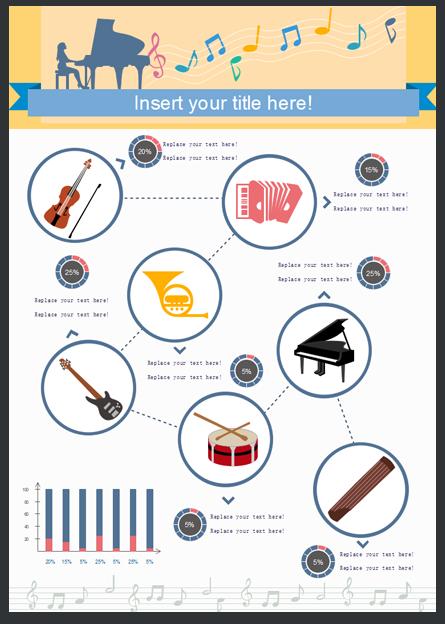 Modello Gratuito Infografica 1